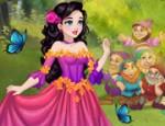لعبة تلبيس الاميرة سنووايت الفستان الخيالي